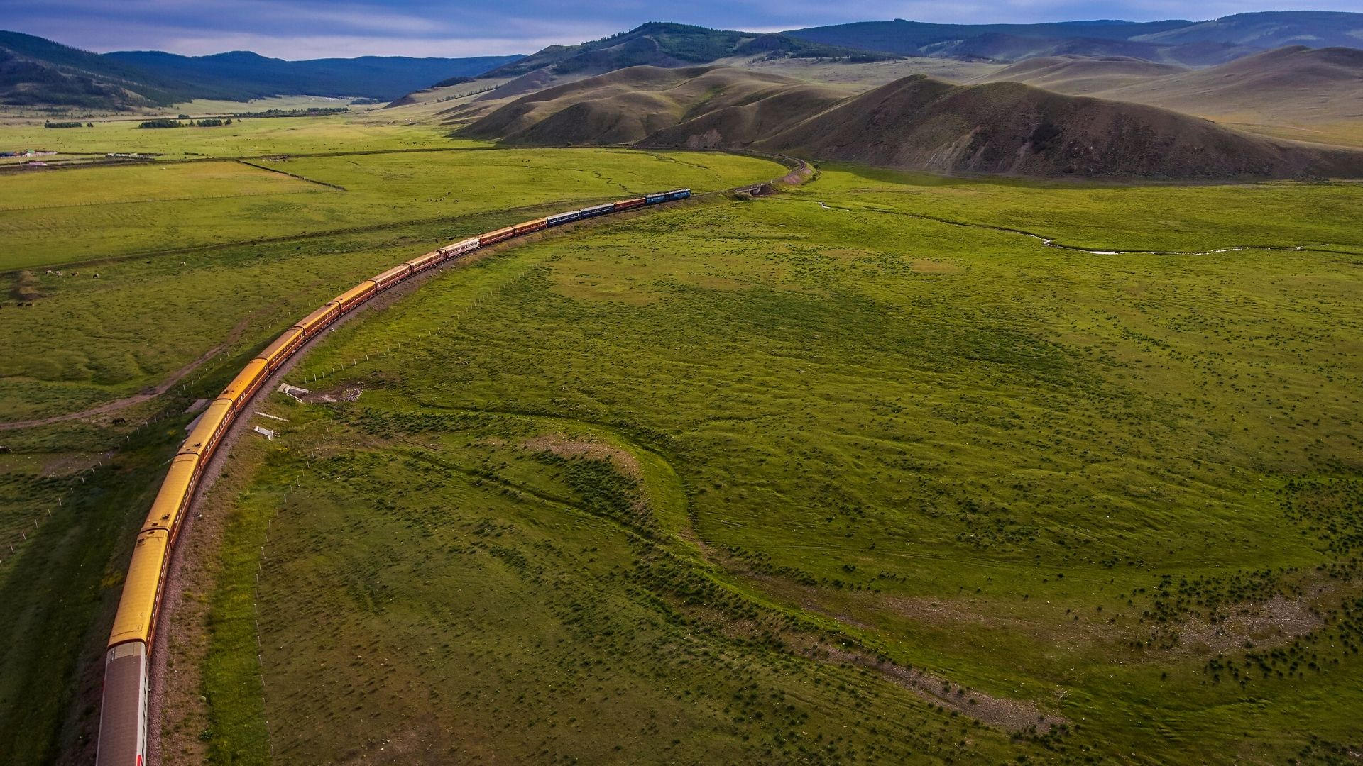 The Iconic Trans-Siberian Railway