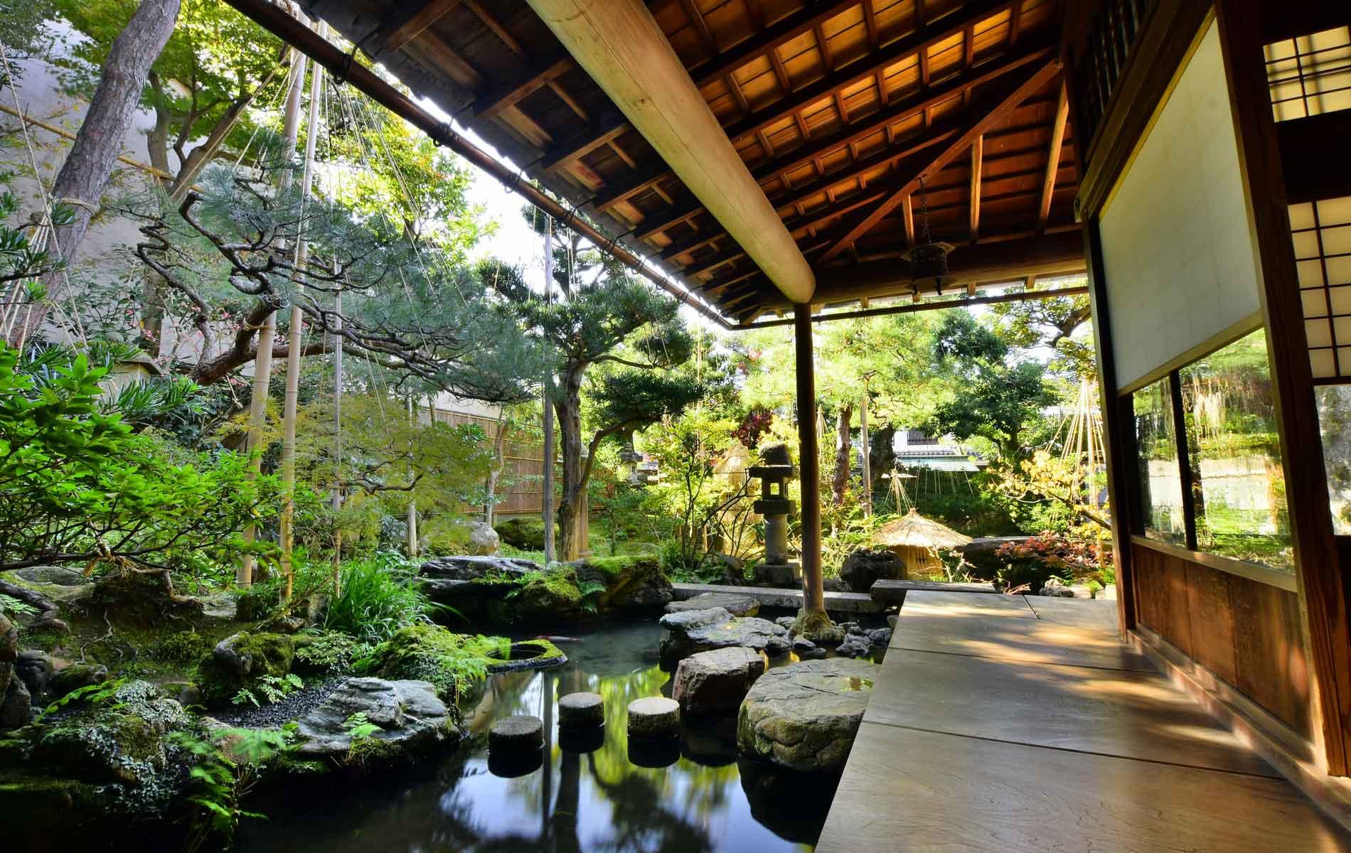 A samurai house in Kanazawa