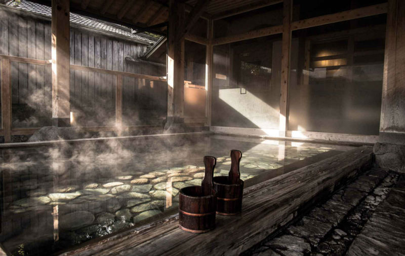 Soak Yourself in a Japanese Tradition