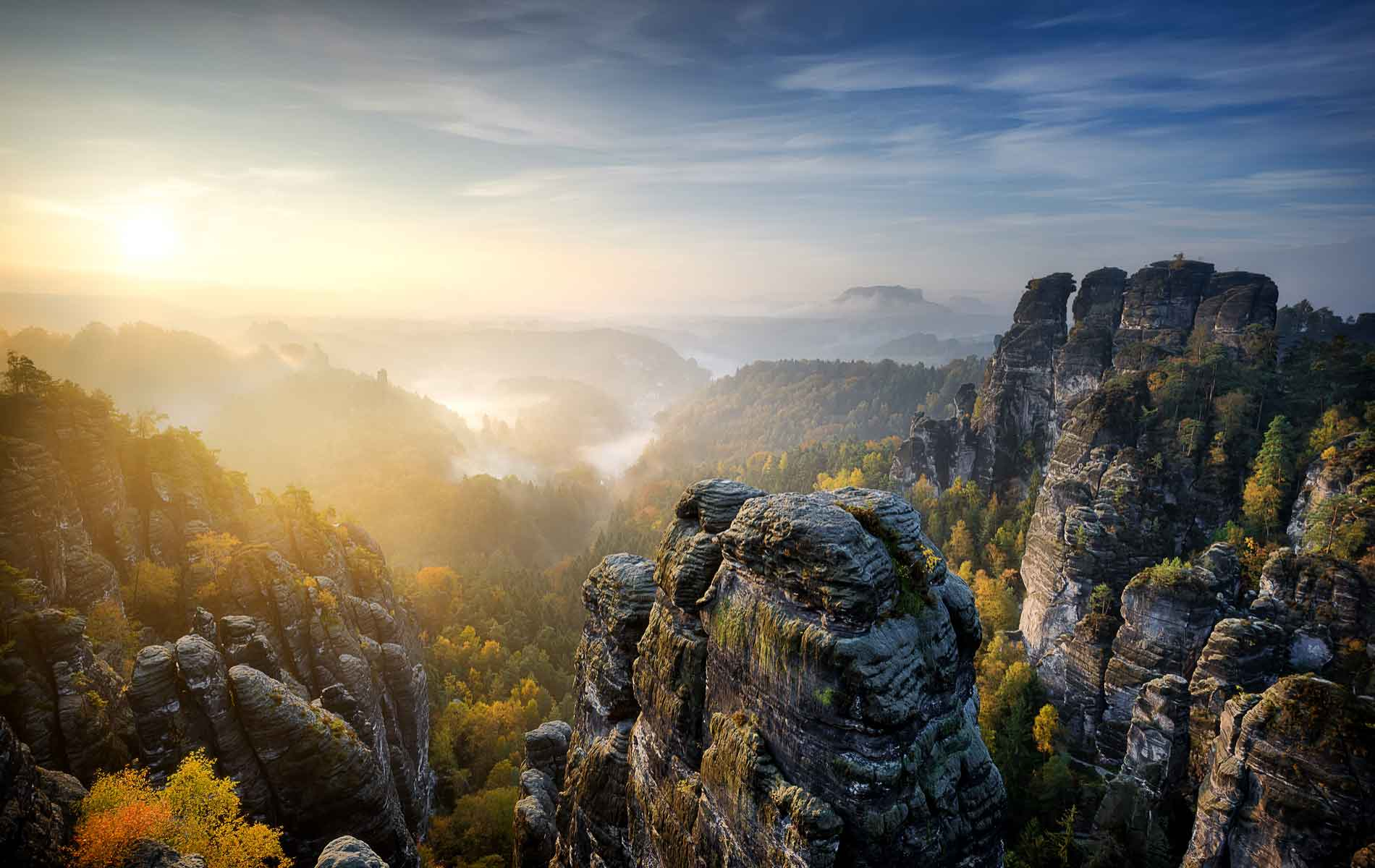 Sailing Over Stone: The Magic Of The Saxon Highlands