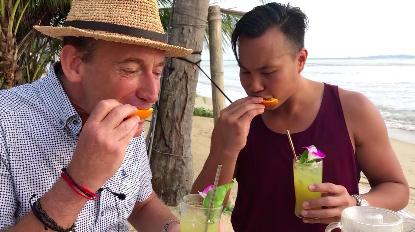 Making Mocktails in Thailand