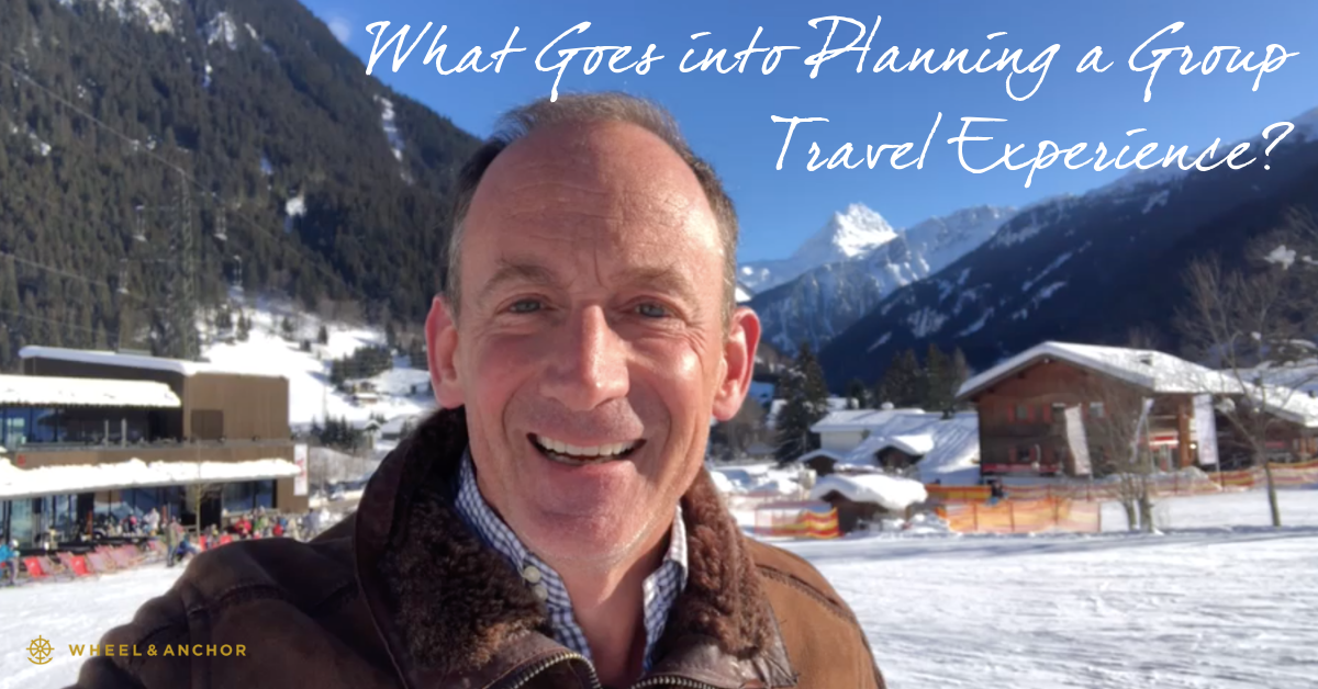 What goes into planning a group travel experience?