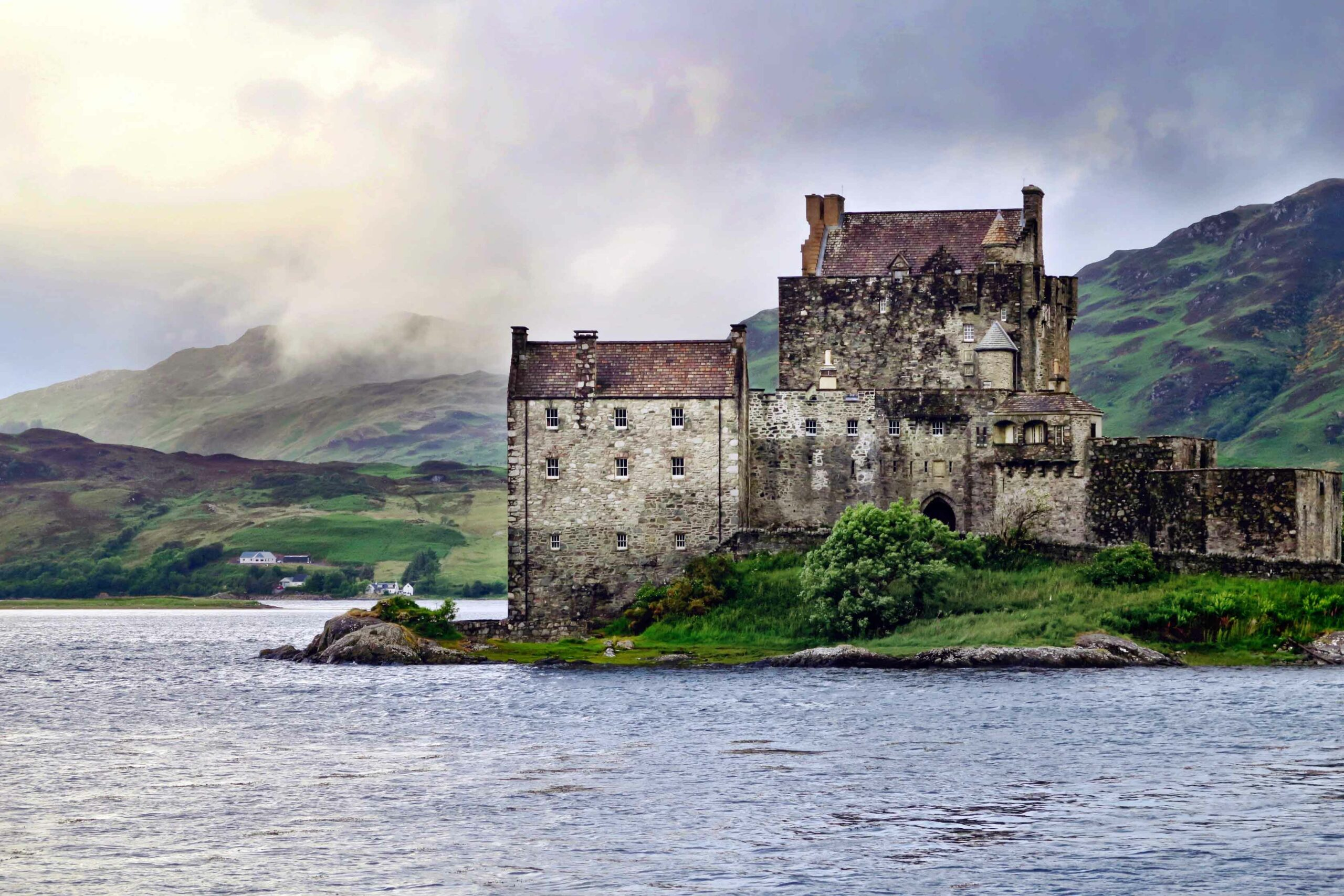 Eilean Donan Castle seen from our Scotland cruise experience