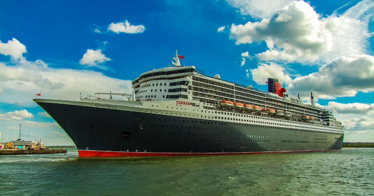 Cunard Line RMS Queen Mary 2 flagship
