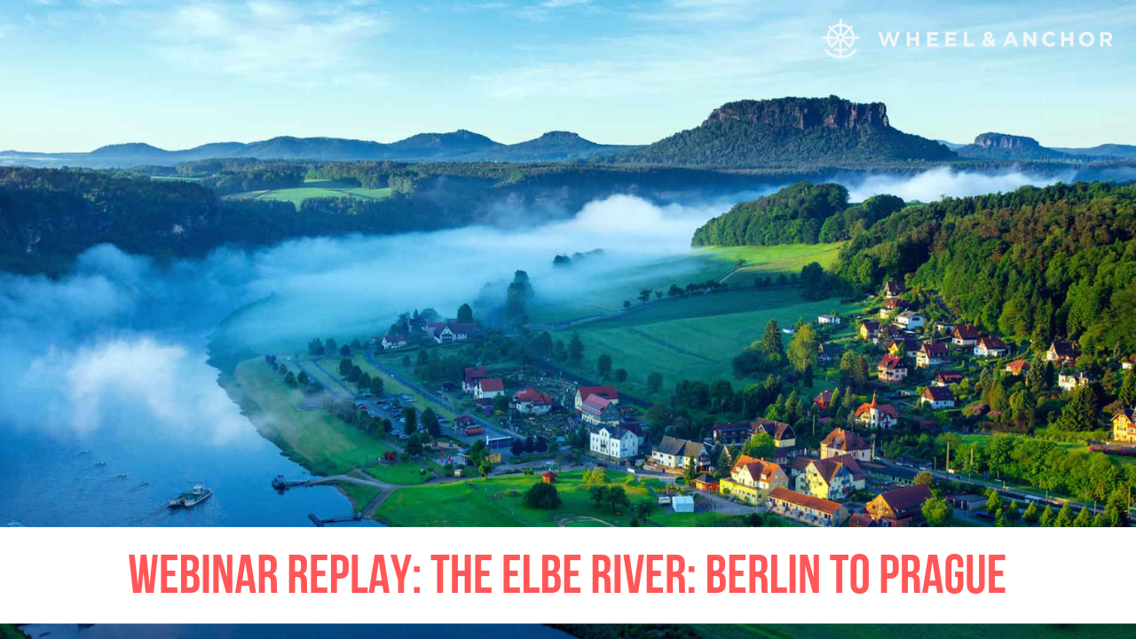 Webinar Replay: The Elbe River: Berlin to  Prague