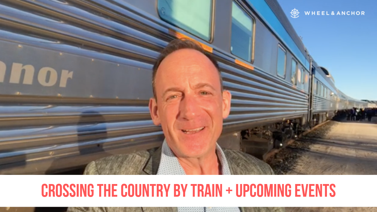 Crossing Canada by Train + Upcoming Events!