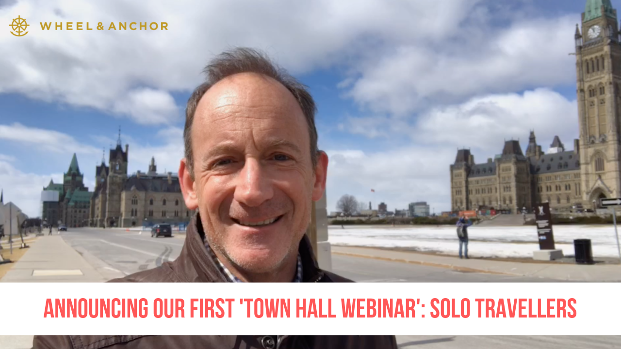 Announcing our first 'Town Hall' webinar for our Solo Travellers!