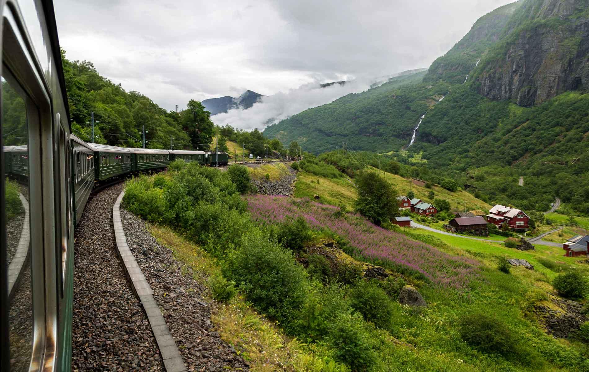 The Flam Railway in Norway