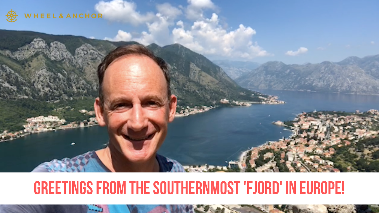 Greetings from the southernmost 'fjord' in Europe!