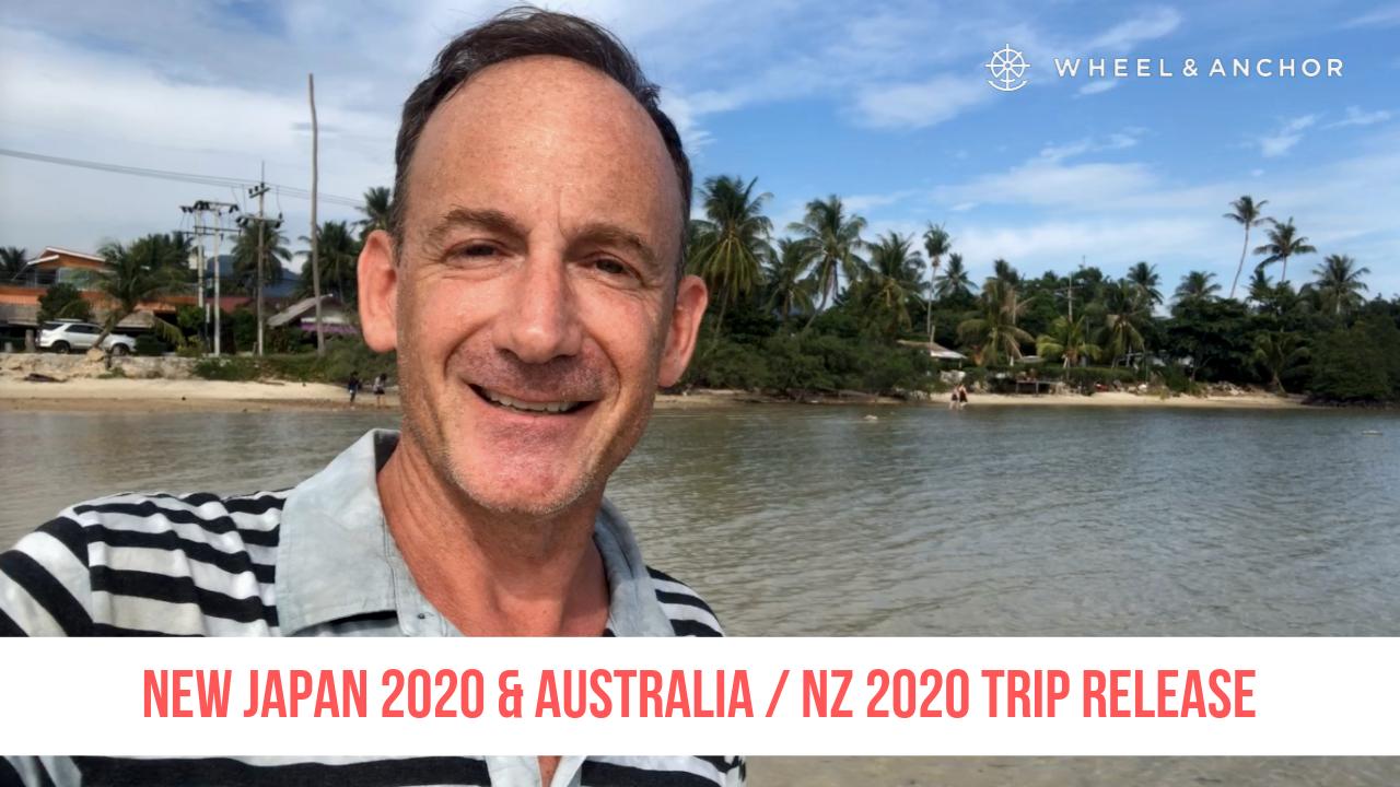 New itineraries released: Japan & Australia & New Zealand!