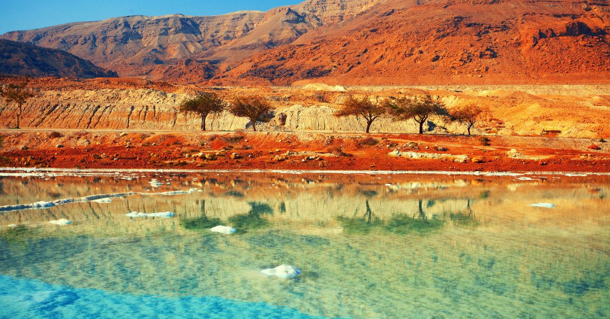 Taking A Life-Affirming Dip In The Dead Sea