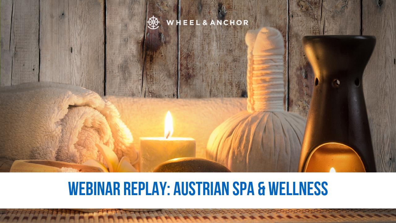 Webinar Replay: Austrian Spa & Wellness 2020