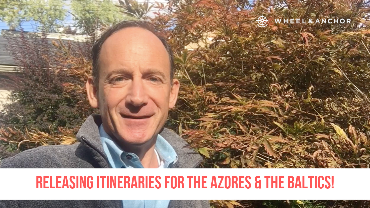 Releasing our Azores and Baltics itineraries!