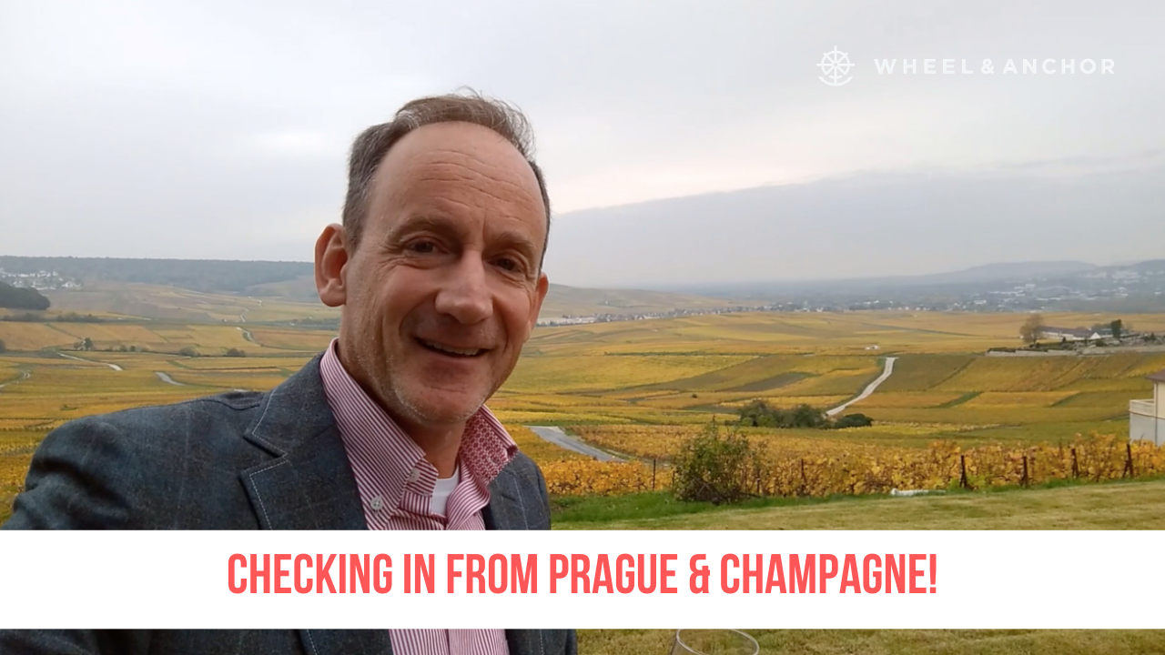 Checking in from Prague & Champagne!