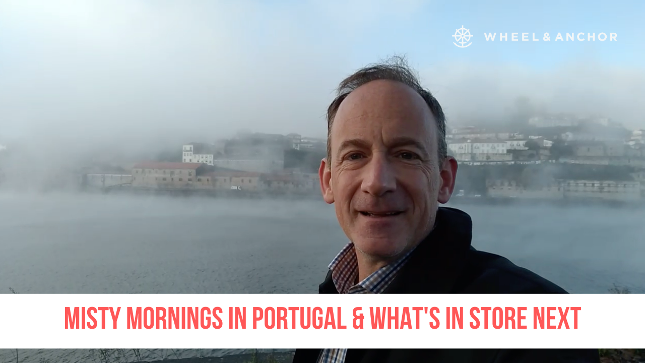 Misty mornings in Portugal & what's in store next