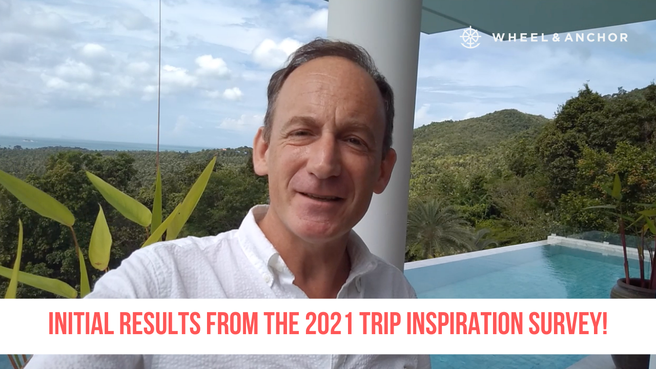 Initial results from our 2021 Trip Inspiration questionnaire!