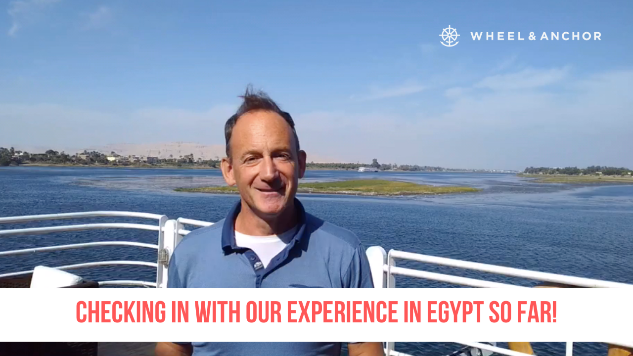 Checking in with our experience in Egypt so far!