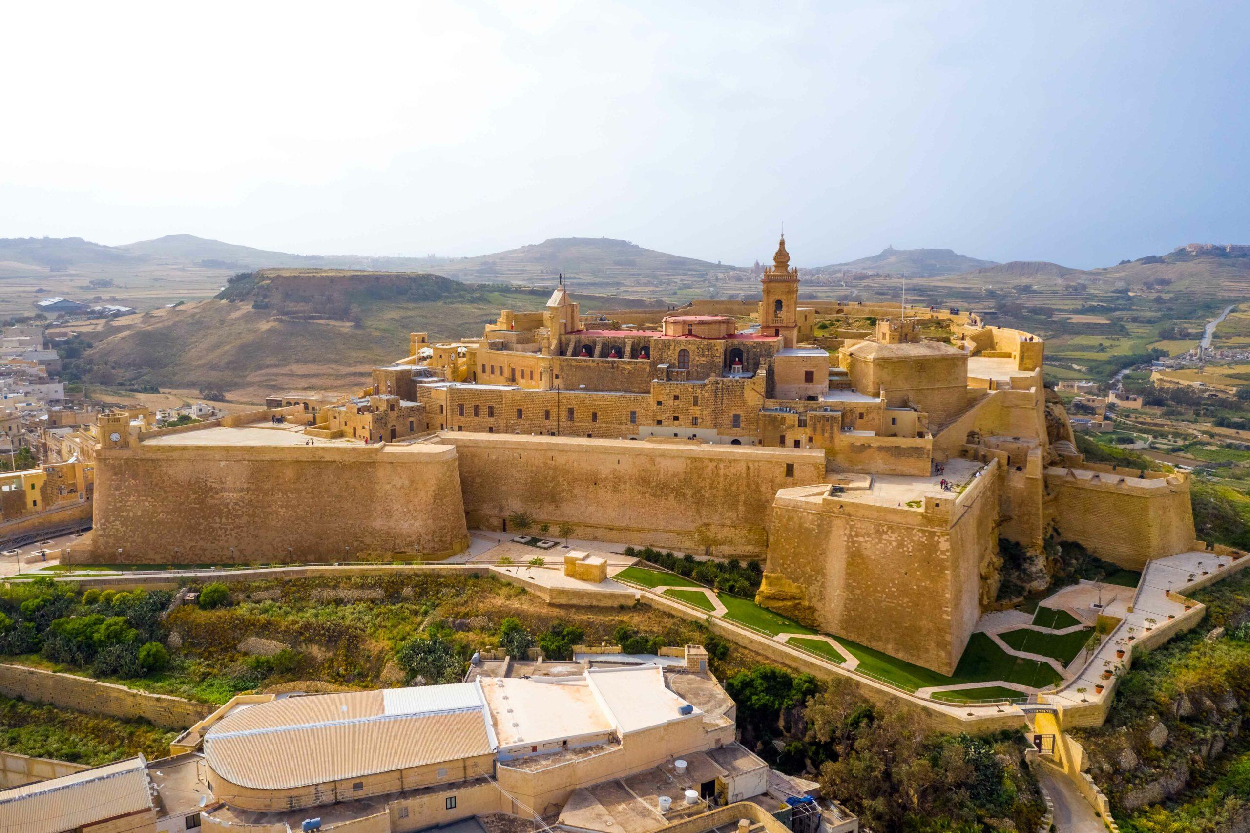 Canva---Citadel-in-Victoria-city-(Rabat)---capital-of-Gozo-island.-Malta-country