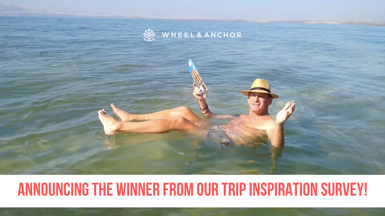 Announcing the winner from our Trip Inspiration Questionnaire!