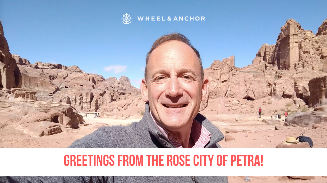 Greetings from the Rose City of Petra!