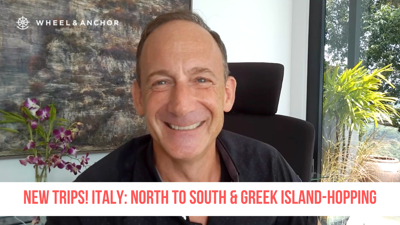 New trips! Italy: North to South and Island-Hopping in Greece