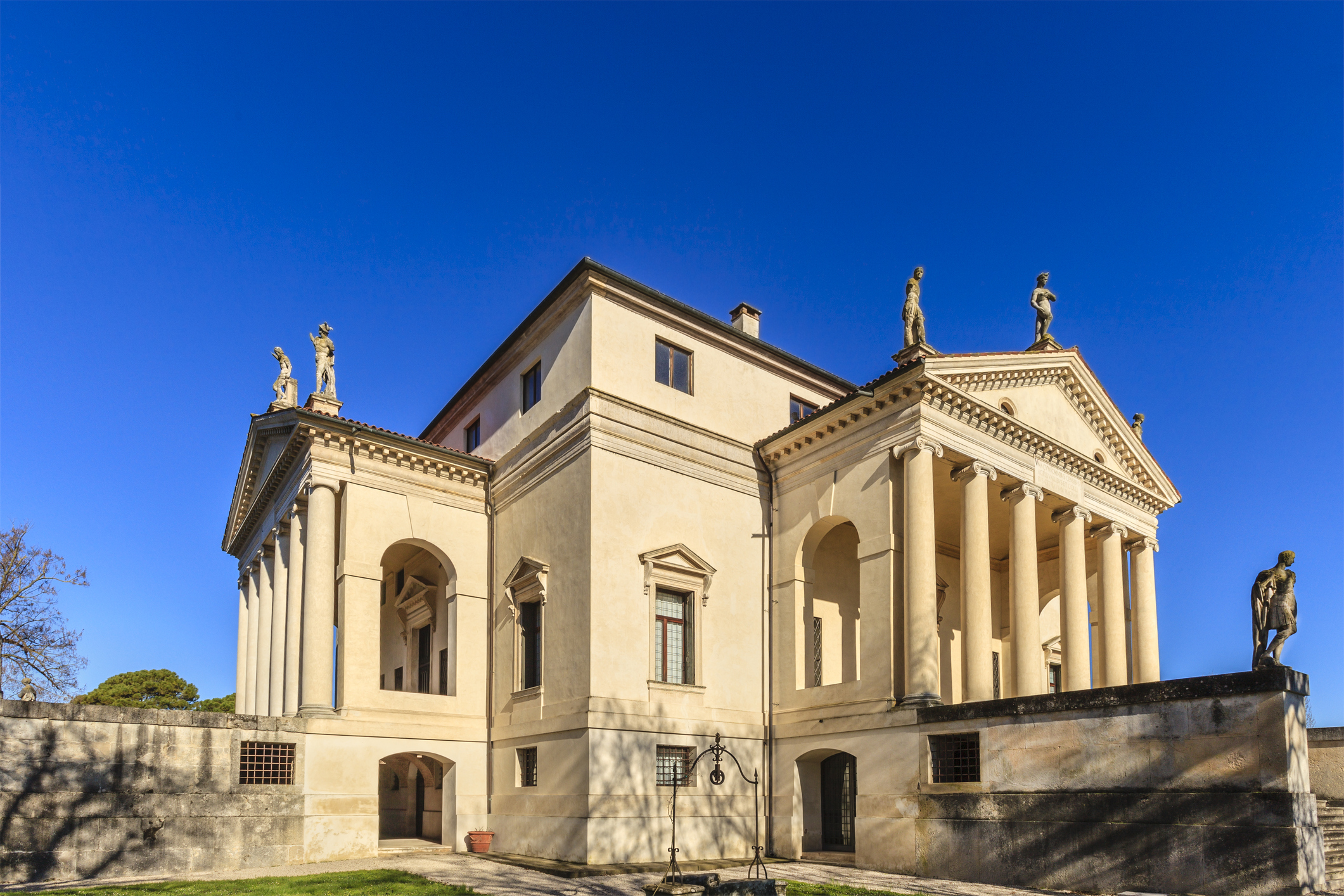 The Palladian villas of the Veneto