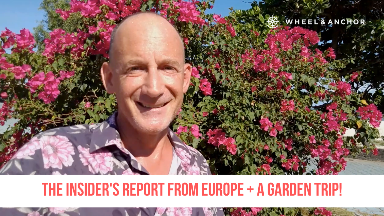 The Insider's Report from Europe + a garden trip!