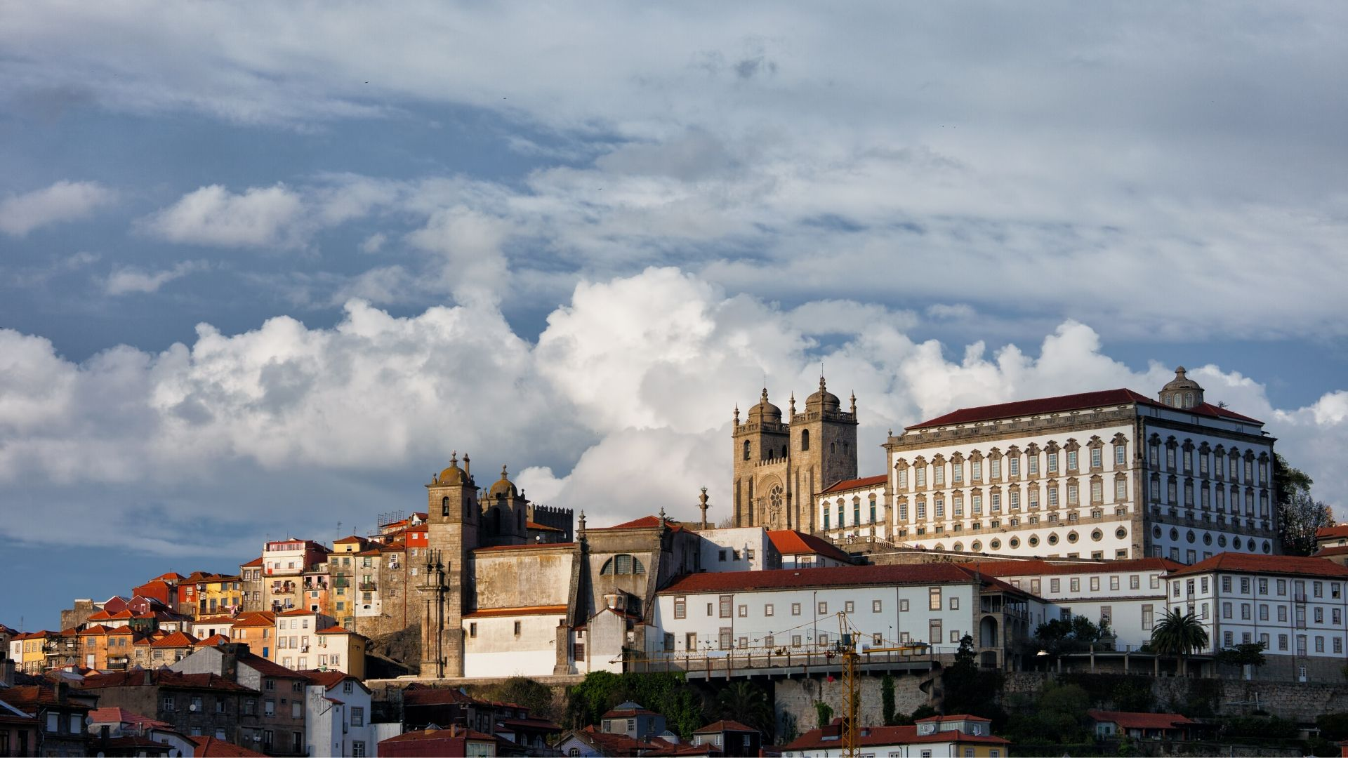 Skyline of Porto's Old Town