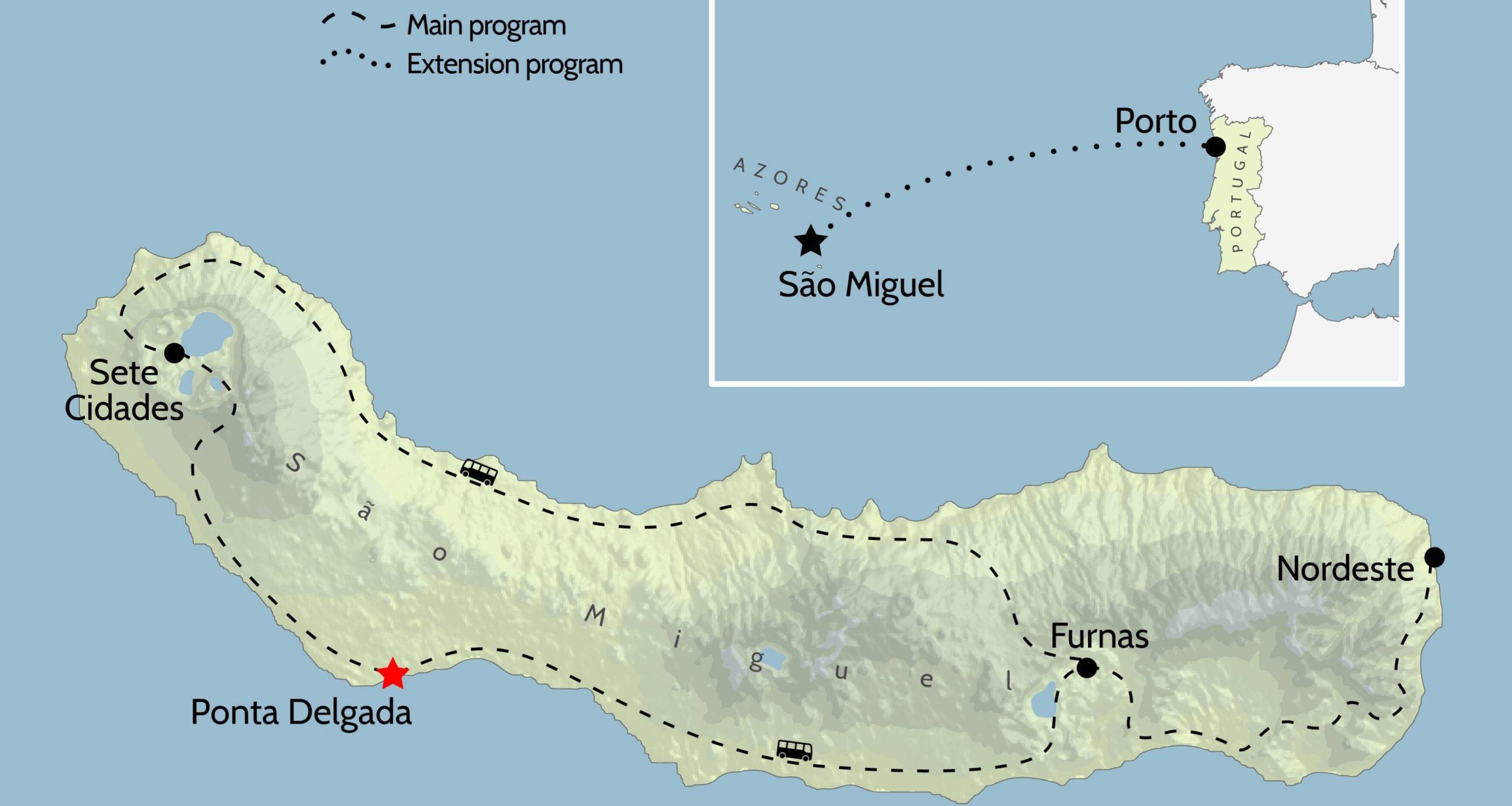 Azores Maps