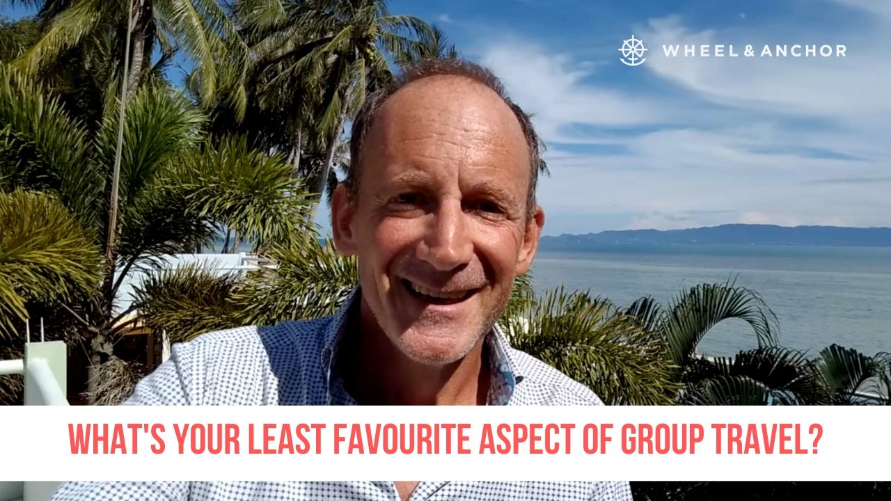 What's your least favourite aspect of group travel?