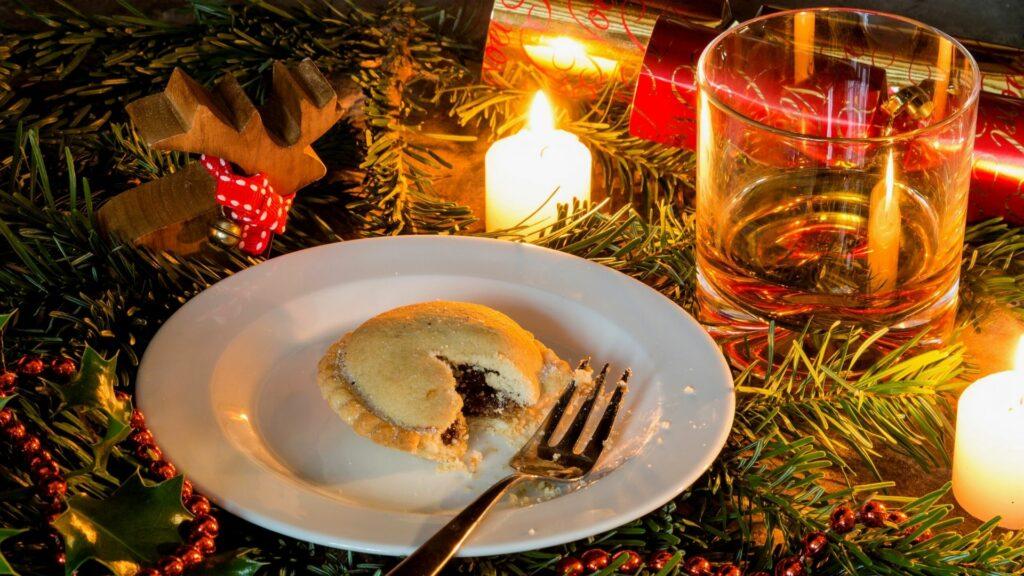 Brandy & Mince pie...a UK Christmas tradition