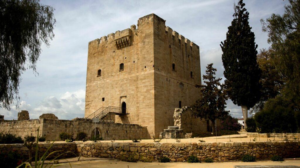 Kolossi Castle in Cyprus