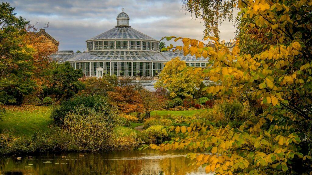 The Botanic Garden in Copenhagen