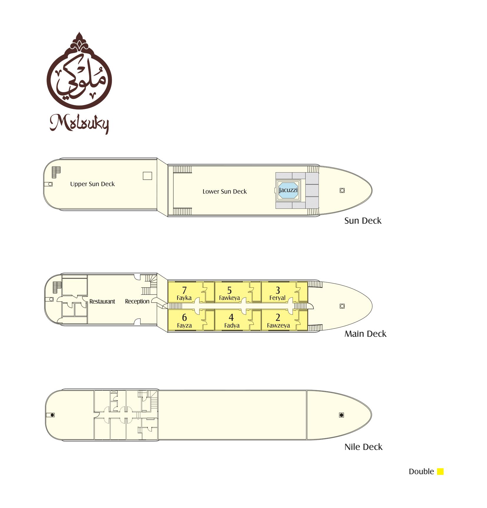 Dahabeya Molouky Deck Plan-1