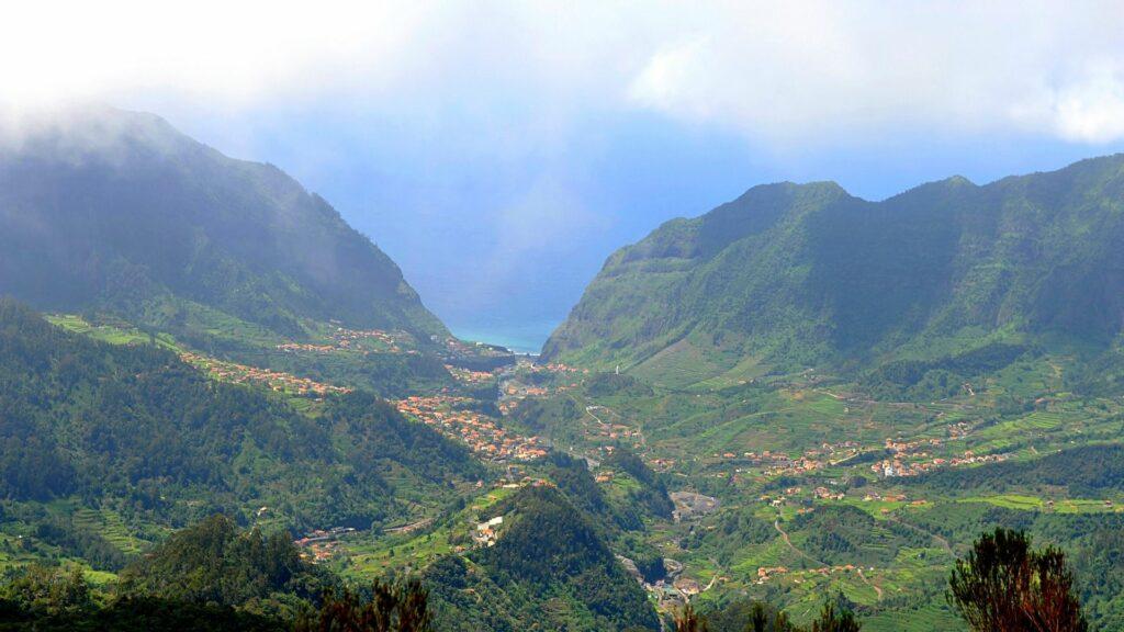 Near Encumeada viewpoint, Madeira