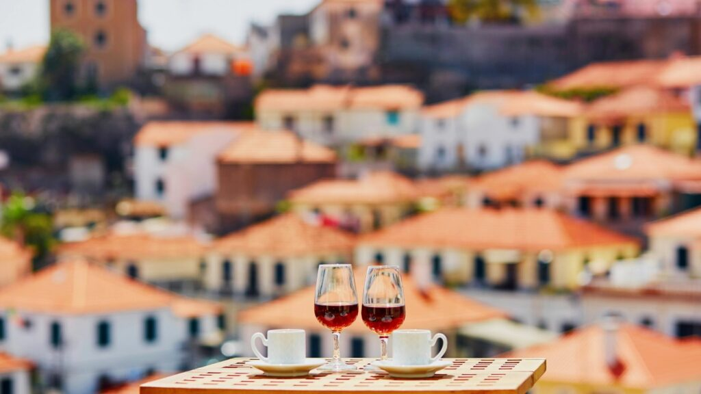 Madeira is home to many fine wines and vineyards