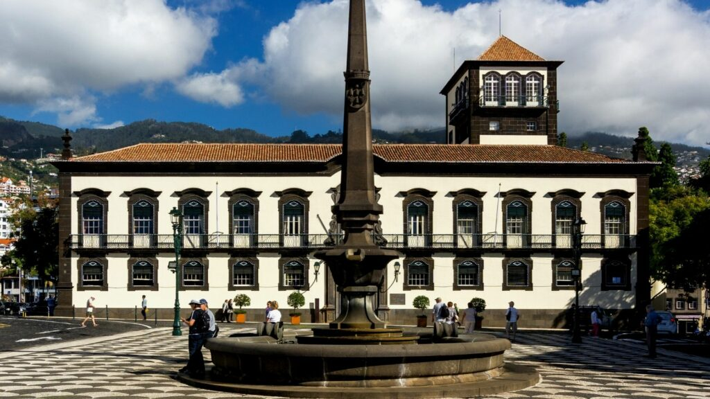 The Town Hall in Funchal, Madeira